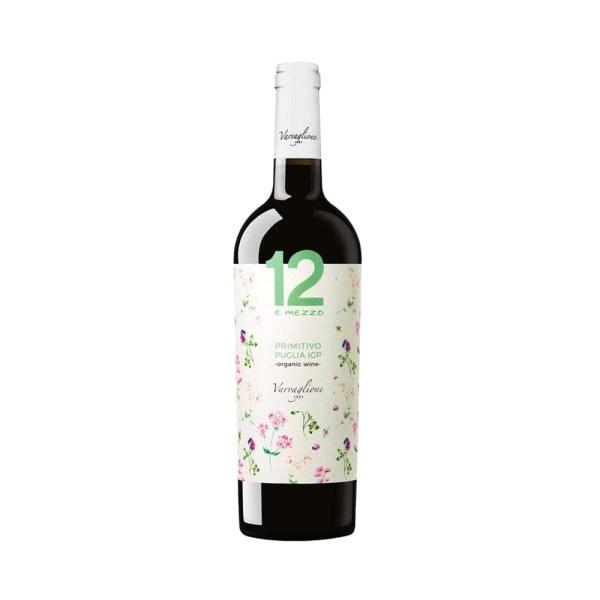 Primitivo Puglia IGP 12 e Mezzo Rouge Bio Come Delivery Cave en ligne Vins en ligne take away delivery Luxembourg 1