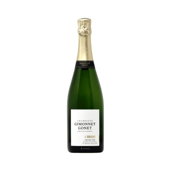 Champagne Gimonnet Gonnet Come Delivery Cave en ligne Vins en ligne take away delivery Luxembourg