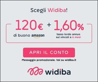 widiba promozione