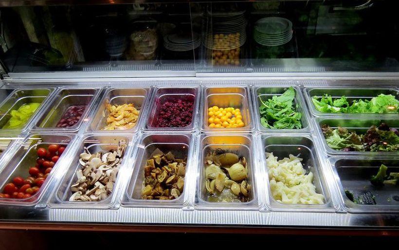 Ensaladas frias de verduras
