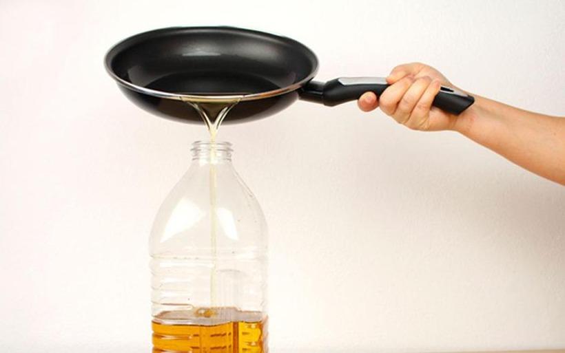 Resultado de imagen para reciclaje de aceite