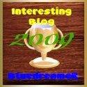 AwardInterestingBlog2009