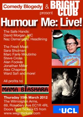 Humour Me: Live!