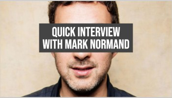 Quick Interview with Comedian Mark Normand