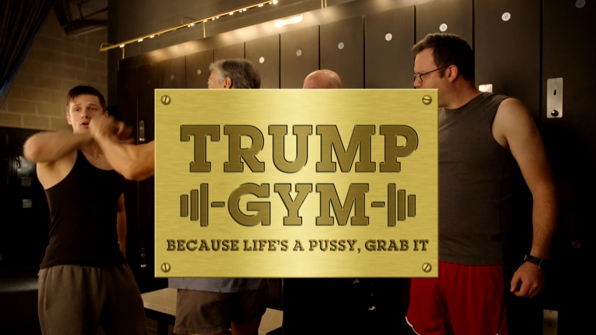 Exclusive Trump Gym The Daily Show With Trevor Noah