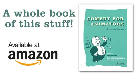 Comedy for Animators on Amazon