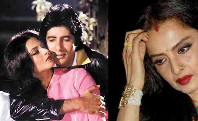 Amitabh Bacchhan and Rekha