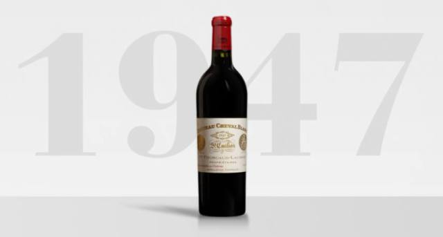 Cheval Blanc 1947 – $33,781