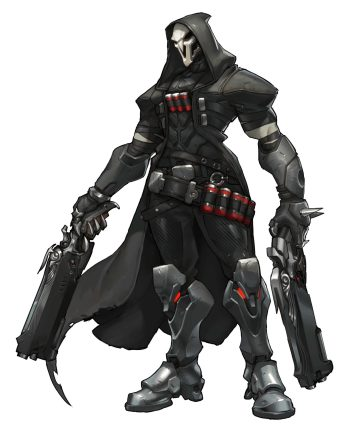 Overwatch Reaper chracters and more