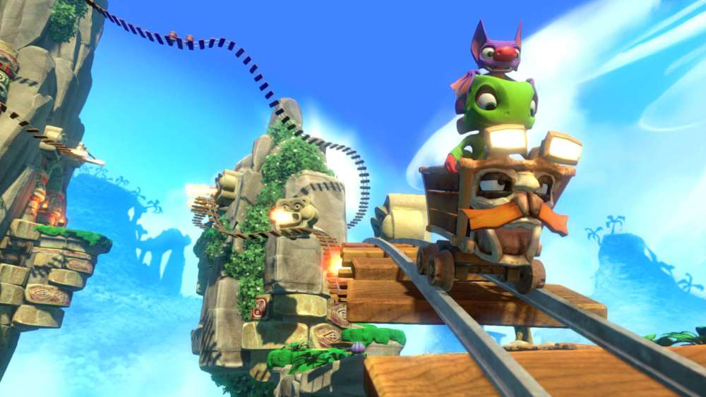 Yooka Laylee Train and Trailer