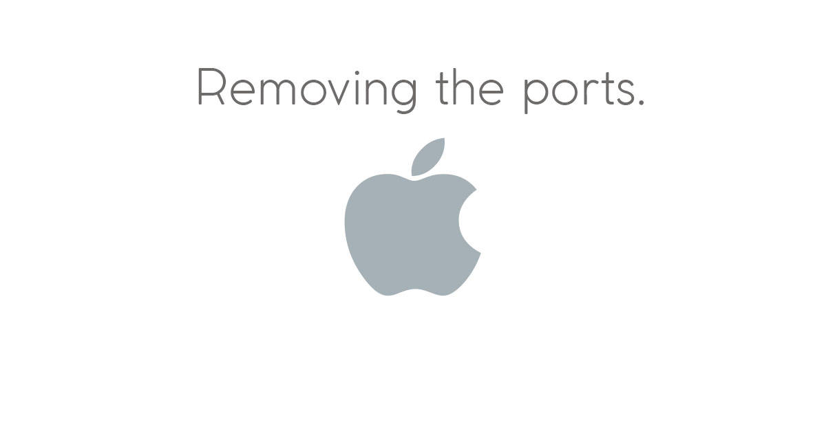 Removing the Ports