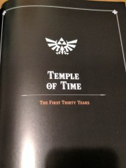 Temple of time first thirty years