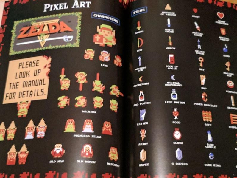 Zelda pixel art
