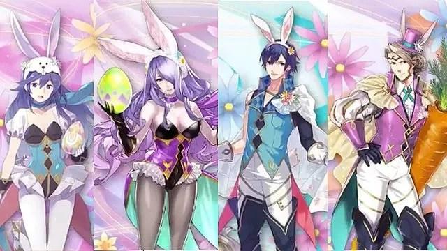 Fire Emblem Heroes Easter