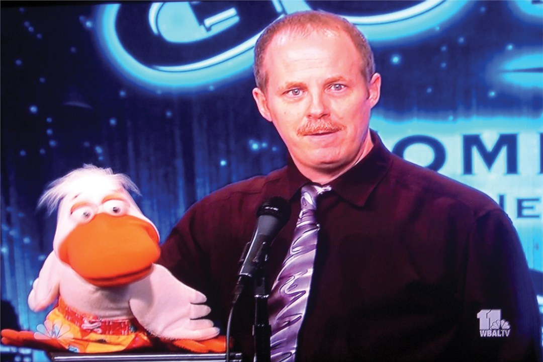 ventriloquist comedy show on TV