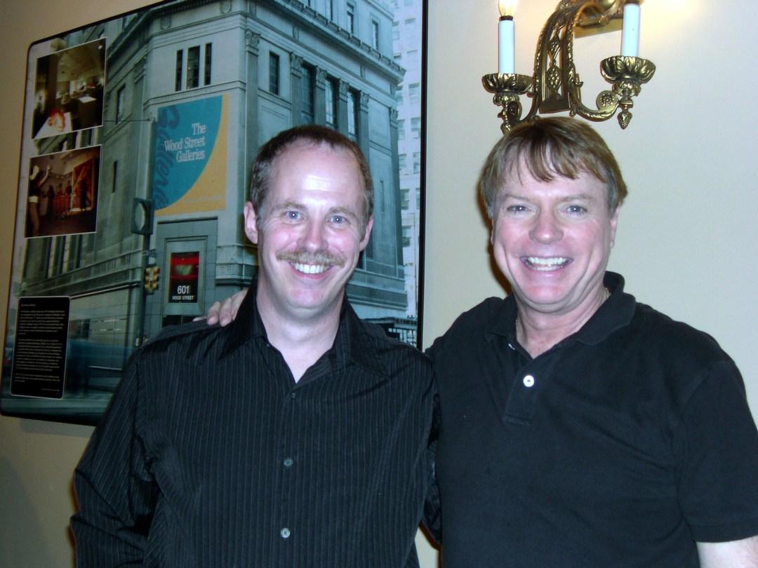 ventriloquist Tom Crowl and ventriloquist Jay Johnson