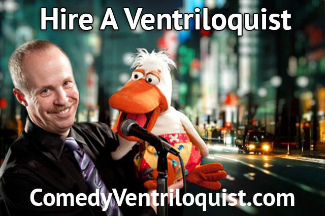 A Ventriloquist … ?