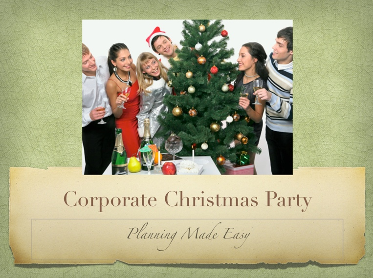 Corporate Christmas Party Planning Made Easy