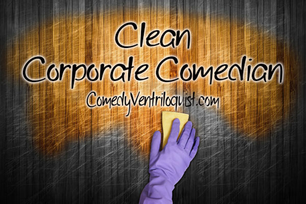 Clean Corporate Comedian