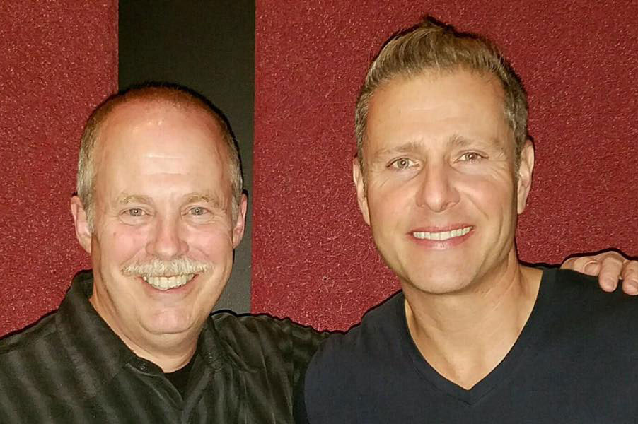 ventriloquist Jeff Dunham and ventriloquist Tom Crowl