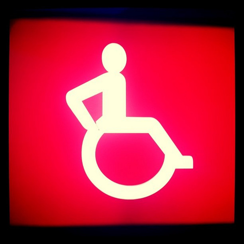 disabled photo