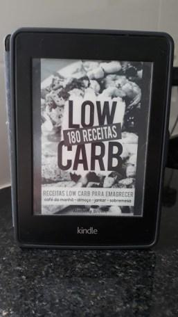 Receitas low carb no Comenta Livros