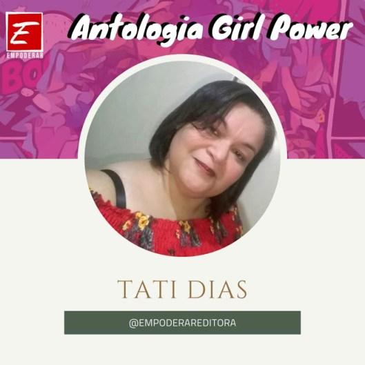 Empoderar Tati Dias no Comenta Livros