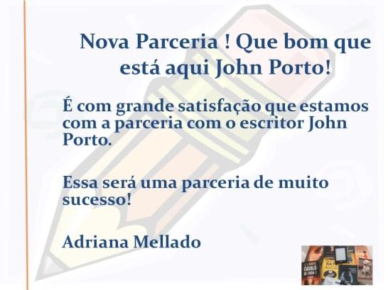 Novo Parceiro no Comenta Livros John Porto