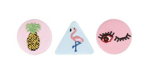 badge tissus les coupons de saint pierre