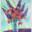 Learn to paint these California poppies!
