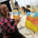 fun at one of our painting and wine classes!