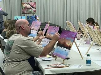 Winter dream paintings class