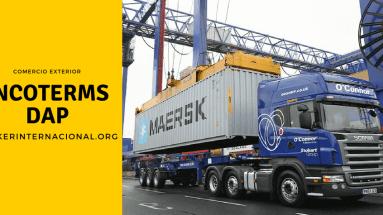 DAP Incoterms en el comercio exterior