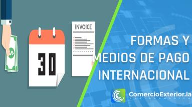 Las formas y medios de pago Internacional