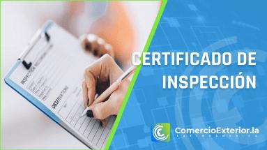 certificado de inspeccion formato