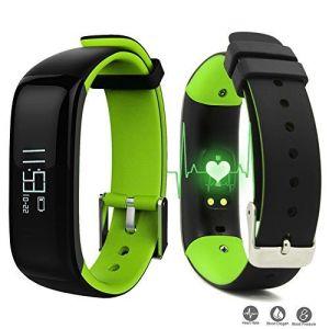 reloj inteligente con Monitor de ritmo cardíaco del pulso con la presión