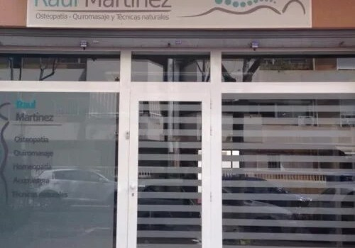 Raul Martinez centro de Osteopatia