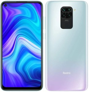 "Xiaomi Redmi Note 9 Smartphone 4GB 128GB, 48MP Quad Camera, 6.53""FHD + DotDisplay, 5020 mAh, 3.5mm Headphone Jack NFC, Blanco [European version]"