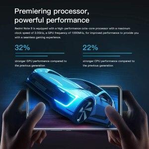 "Xiaomi Redmi Note 9 Teléfono 4GB RAM + 128GB ROM, Sin NFC, 6,53"" Pantalla Completa, MTK Helio G85 Procesador Octa-Core, 13MP Frontal y 48MP+8MP+2MP+2MP AI Quad Cámara Trasera Versión Global (Verde)"