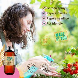Naissance Aceite de Neem - 100% puro virgen prensado en frío vegano 60ml - 1l