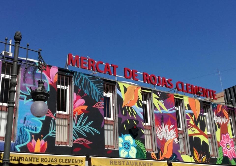 Galeria d'imatges de #FemBarri el 8 de juliol al Mercat Rojas Clemente