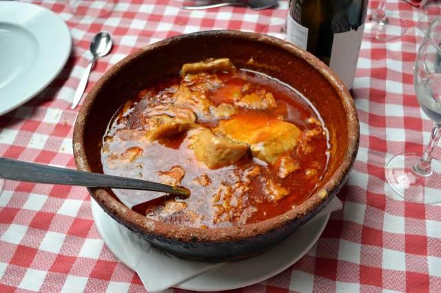 Truchas laureadas Restaurante la Encomienda