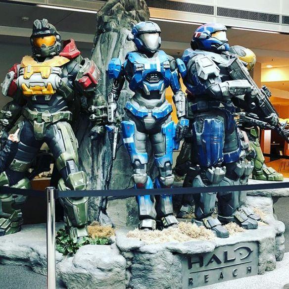 Seattle #Microsoft HQ #xbox #halo #