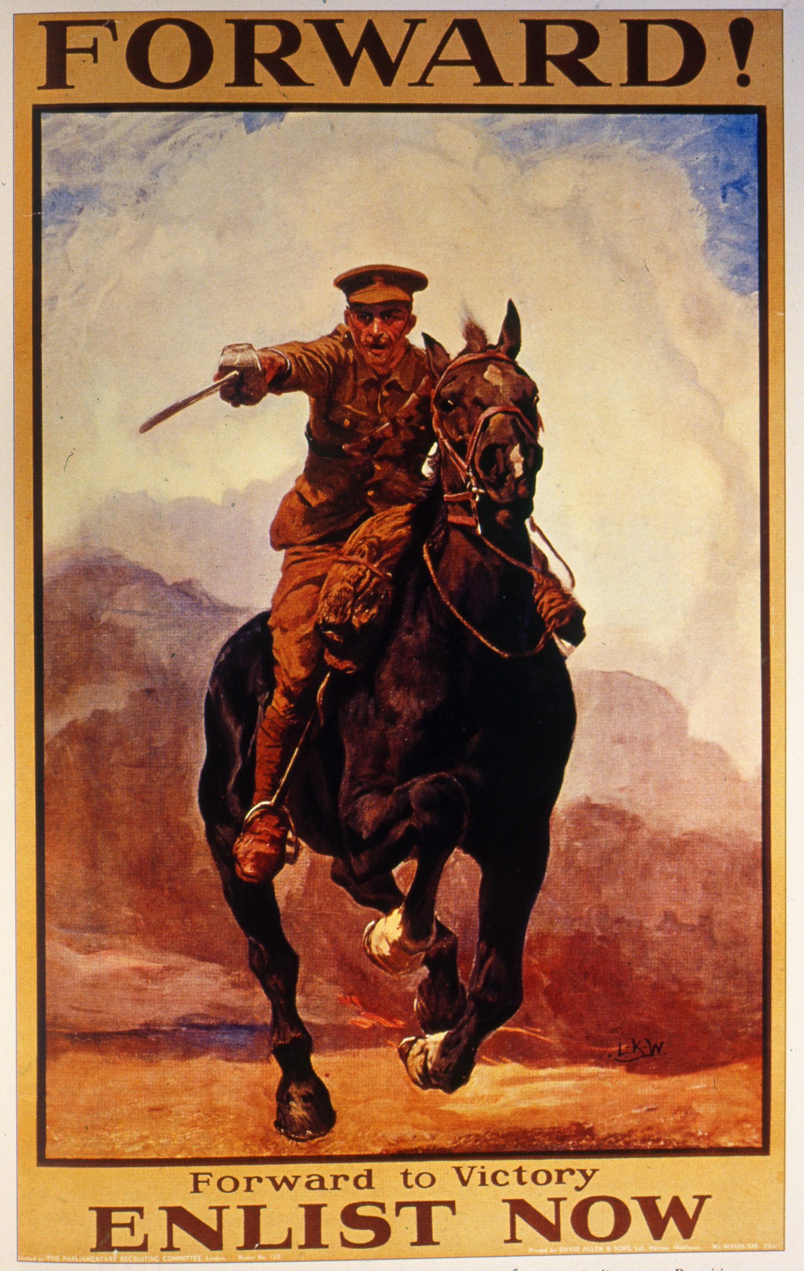 Front Line Post Amp War Horses Stories From The Great War