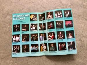 Brochure Été des Portraits : pages intérieures