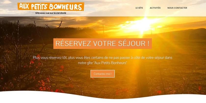 Nouveau site Internet en cours de création