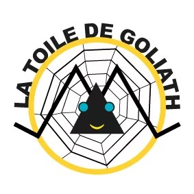 Logotype La Toile de Goliath