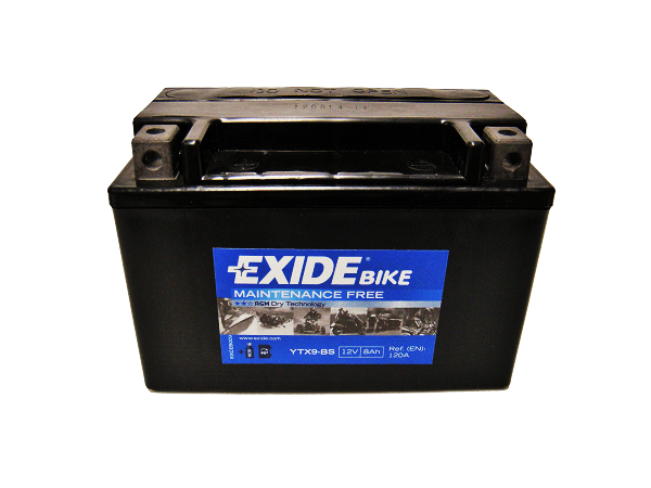 Exide Bike YTX9-BS D