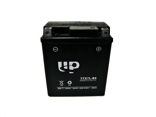 UP MOTORCYCLE BATTERY YTX7L-BS D