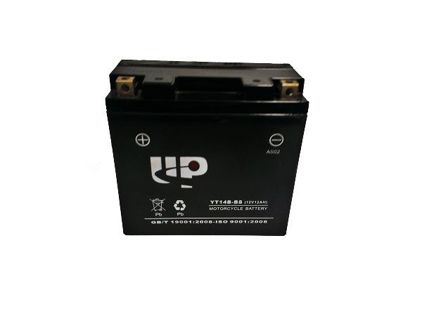 UP MOTORCYCLE BATTERY YT14B-BS D